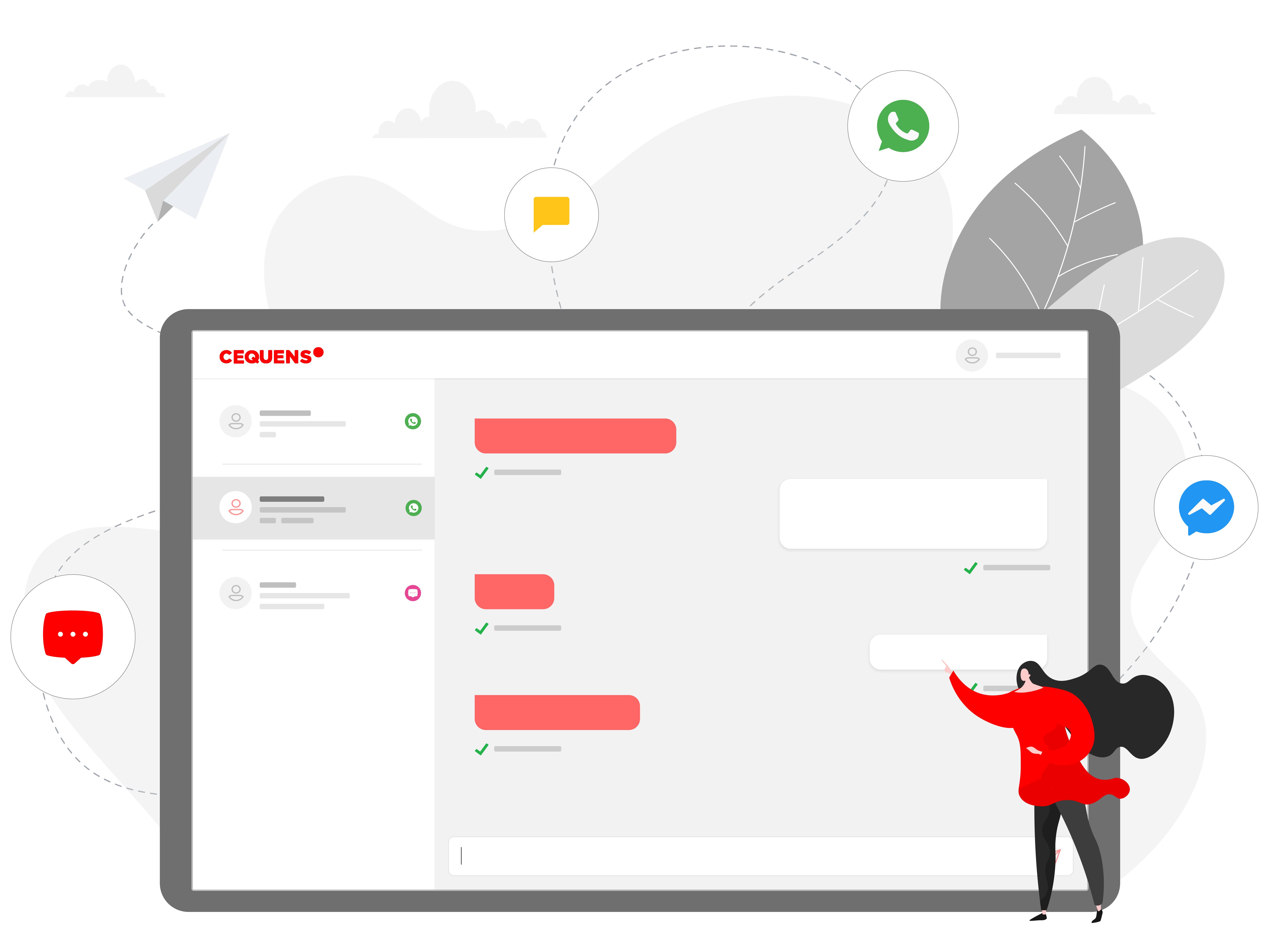 CEQUENS Chat conversational platform