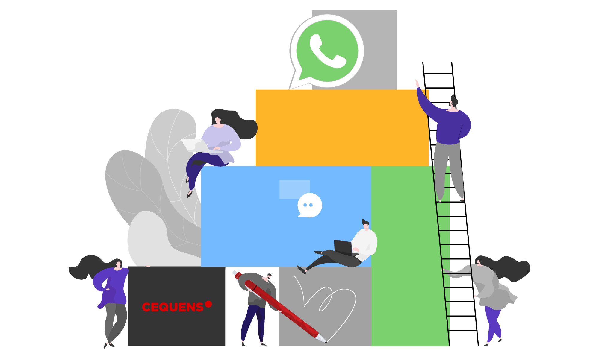 WhatsApp Business Solutions from CEQUENS