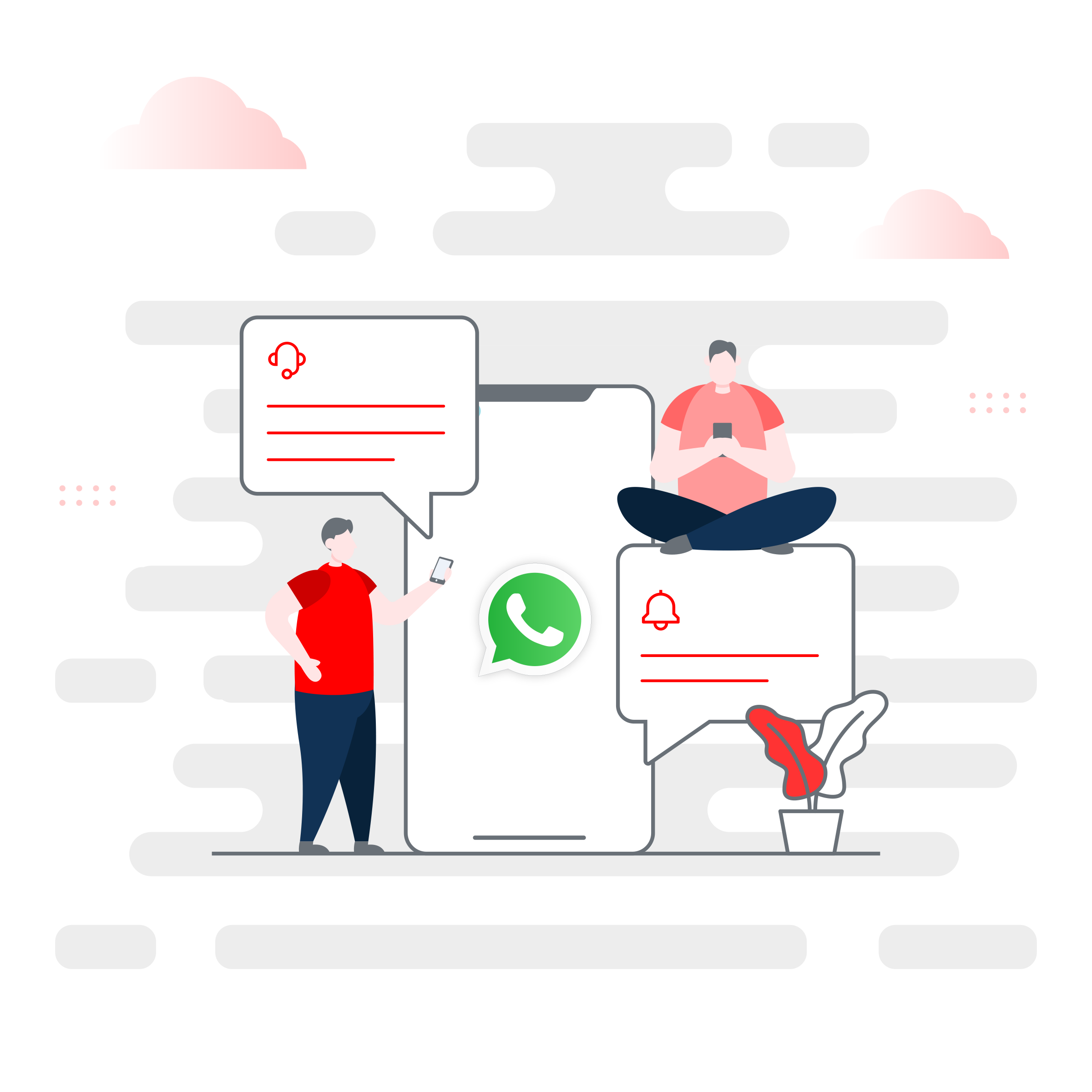 WhatsApp Business: Customer Care Messages vs. Template Messages