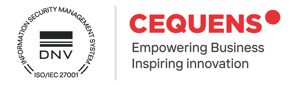 CEQUENS certified with ISO 27001:2013 for data security